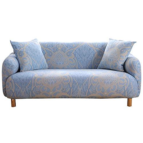 Funda elástica para sofá, 1 2 3 4 plazas Fundas para sofá con reposabrazos elásticos Funda para sofá Funda para sillón...
