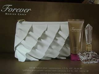 Forever Mariah Carey Gift Set Including Ruffled Clutch Purse + Parfum Spray + Body Lotion
