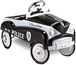 InStep Kids Toy Pedal Car, Toddler Push and Ride On Toy, Police Car
