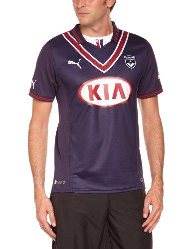 PUMA Herren Trikot Girondins De Bordeaux Home Shirt Replica, New Navy-Rio red, L, 743897 11
