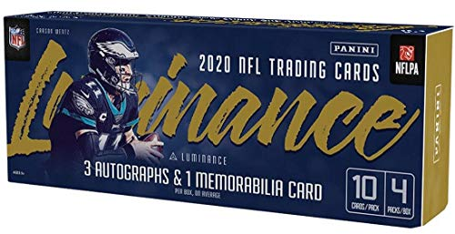 2020 Panini Luminance NFL Football HOBBY box (4 pks/bx)