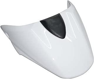 Motorcycle Rear Passenger Pillion Seat cowl fairing Cover For Ducati Monster 696 796 1100 1100S (White)