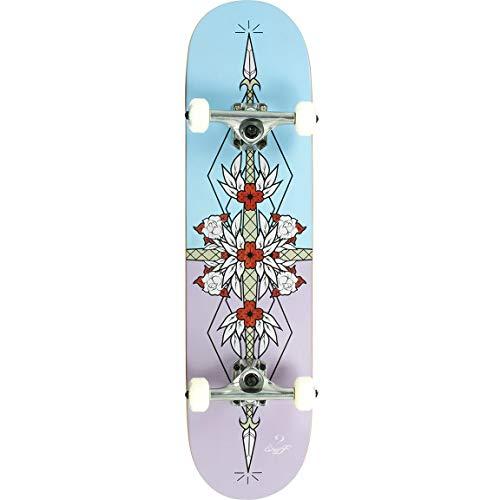 Enuff Skateboards Flash Complete Skateboard, Adultos Unisex, Purple Blue (Multicolor), 8  x 32