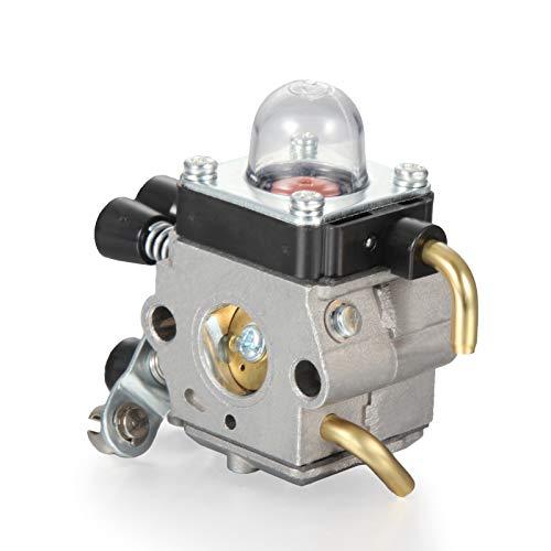 Vergaser Dichtung Primer Pumpe für Stihl FS45 FS46 FS55 FC55 FS38 HS45 FS74 FS75 FS76 FS80 Trimmer C1Q-S66 / C1Q-S186A RICH CAR
