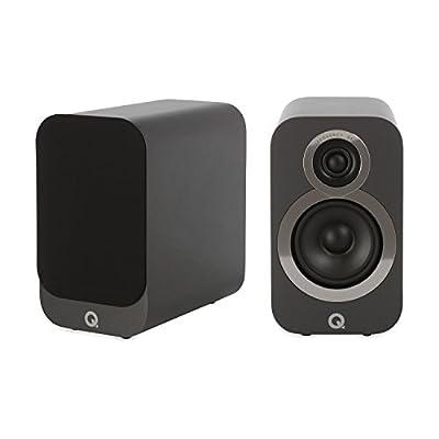 Q Acoustics 3010i Compact Bookshelf Speakers (Pair) (Graphite Grey) from Q Acoustics