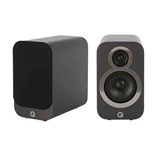 Q Acoustics 3010i Compact Bookshelf Speaker Pair (Graphite Grey)