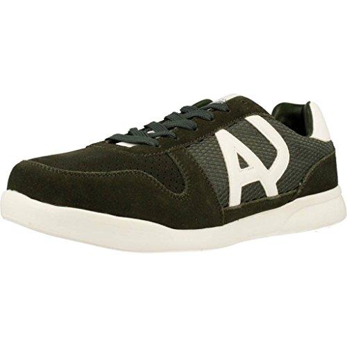 ARMANI JEANS SOKORA Sneakers heren Kaki Lage sneakers
