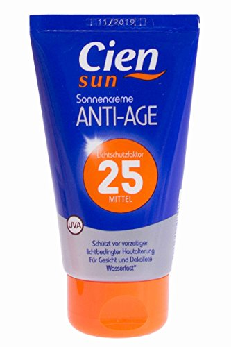 Cien® Sun Sonnencreme 75ml Anti Age LSF 25 Qualität Made in Germany