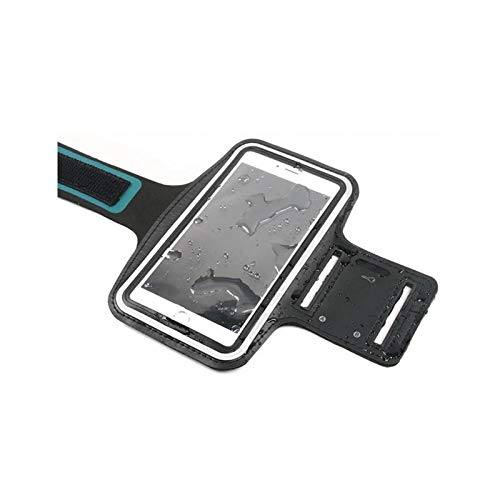 CoverKingz Armtasche für Huawei Mate 10 Lite Sportarmband mit Schlüsselfach, Laufarmband, Sport Handyhülle, Handy Armband Schwarz - 3