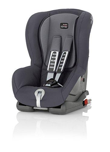 Britax Römer Silla de coche 9 meses - 4 años, 9 - 18 kg, DUO PLUS Grupo 1, Storm Grey