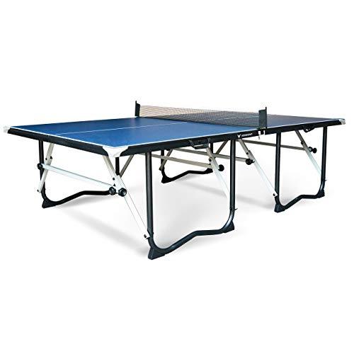 Vermont zusammenklappbarer Tischtennis-Tisch - EIN hochwertiger & professioneller PingPong Tisch - Diese Tischtennisplatte ist in weniger Minuten einsatzbereit (Tisch nur)