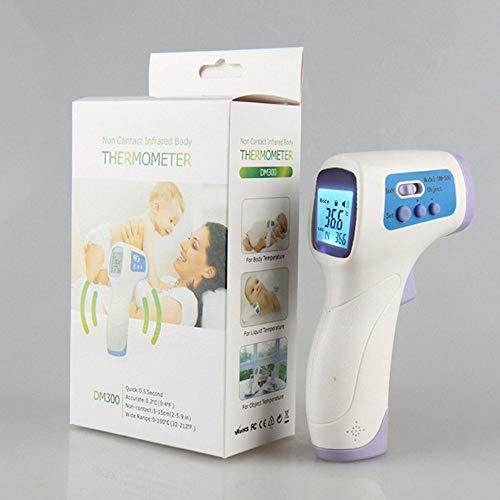 JIALI Elektronische Thermometer, Professionele Thermometer, LCD Digitale Contactloze Infraroodthermometer Voorhoofdthermometer, Voorhoofdthermometer, Voor Zuigelingen, Kinderen, Volwassenen