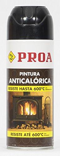 SPRAY Anticalorico negro 600º PROA