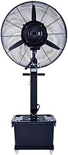 Ventilador 3 Soporte Spray de refrigeración de Aire Acondicionado Aparato de refrigeración Comercial Sacudida Industria de la Velocidad del Ventilador 42L Tanques (Fija, 800MM)