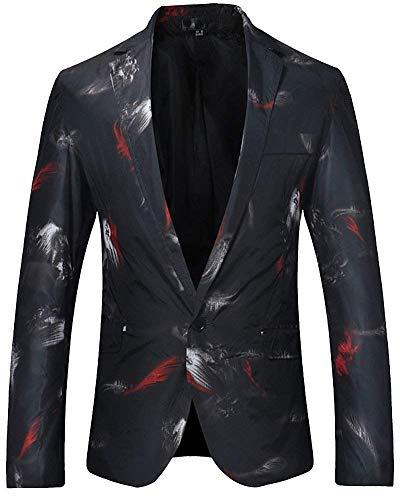 Heren Zakelijke Pak Korte Slanke Jas Sweat Moderne Casual Fit Blazer Wedding Suit Prom Jas Pak Jassen
