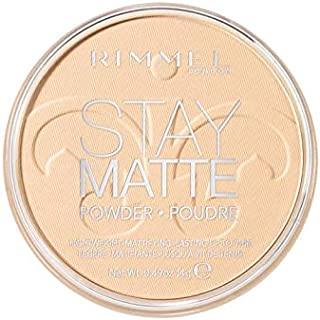 Rimmel London, Stay Matte Pressed Powder, 01 Transparent, 14 g