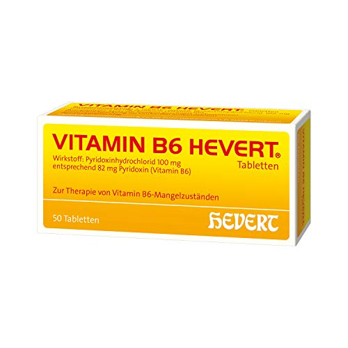 VITAMIN B6 HEVERT Tabletten 50 St