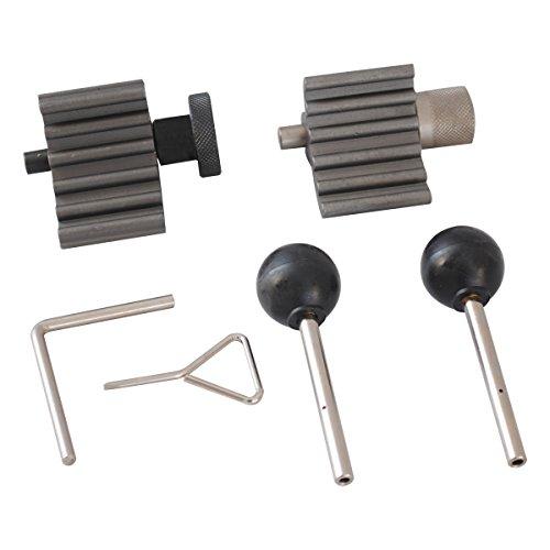 CCLIFE 6tlg Zahnriemen Wechsel Werkzeug Set Einstellwerkzeug Nockwellenw Arretierwerkzeug SDI TDI 1.2, 1.4, 1.6, 1.9, 2.0