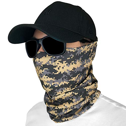Fishing Mask Camo Headwear Neck Gaiter