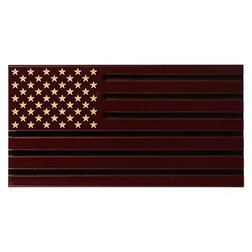 VOSAREA Münzhalter mit amerikanischer Flagge, für Medaillons, Challenge