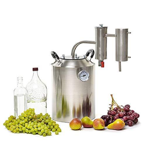 SPEAKEASY 5 Gallon Moonshine Still for Whiskey Bourbon Vodka Brandy Alcohol   Home Brewing DIY Kit Distiller