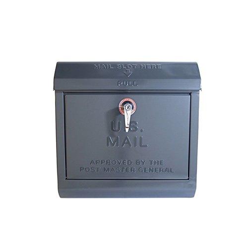 ART WORK STUDIO U.S. Mail box (ユーエスメールボックス) TK-2075 ダークグレー