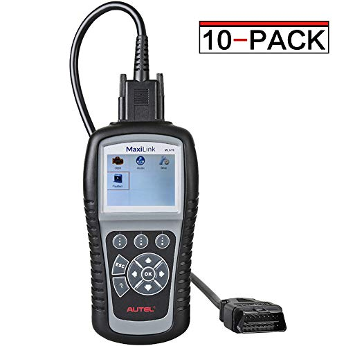 Great Features Of Autel Case of 10, ML619 MaxiLink CAN OBD2 Scanner Code Reader + ABS/SRS System Aut...
