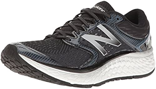 New Balance Men& 039;s Fresh Foam 1080V7 Running schuhe, schwarz Weiß, 14 D US