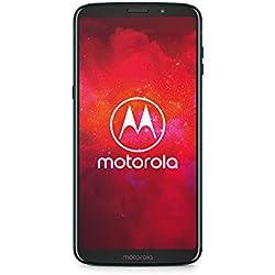 Motorola Moto Z3 Play Smartphone con moto Power Pack (6 pollici), 4 GB RAM/64 GB, Android Deep Indigo