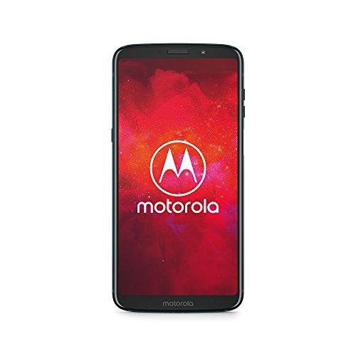 moto z3 play Smartphone mit moto power Pack (6 Zoll), 4 GB RAM/64 GB, Android Deep Indigo