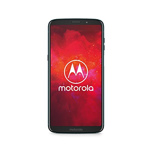 moto z3 play Smartphone mit moto power Pack (6 Zoll), 4 GB RAM/64 GB, Android Deep Indigo