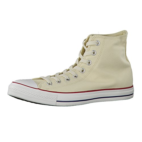Converse Unisex-Erwachsene Sneakers Chuck Taylor All Star M9162 High-Top, Beige (Elfenbein), 46 EU