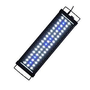 ETiME-LED-Aufsetzleuchte-LED-Aquarium-Beleuchtung-LED-Aquarienbeleuchtung-Aquariumlampe-Beleuchtung-Klemmleuchte-fr-32-140cm