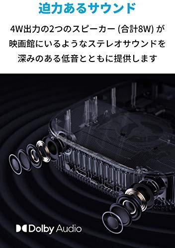 AnkerNebulaVegaPortable(フルHD1080pAndroidTV搭載ホームプロジェクター)【500ANSIルーメン/DolbyDigitalPlus採用/8Wスピーカー/角度調整可能なフラップ付/オートフォーカス機能/最大3時間再生/ホームシアター/HDR10対応】