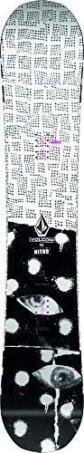 Nitro Beast X Volcom Tabla de Snowboard, Hombres, Negro, 155