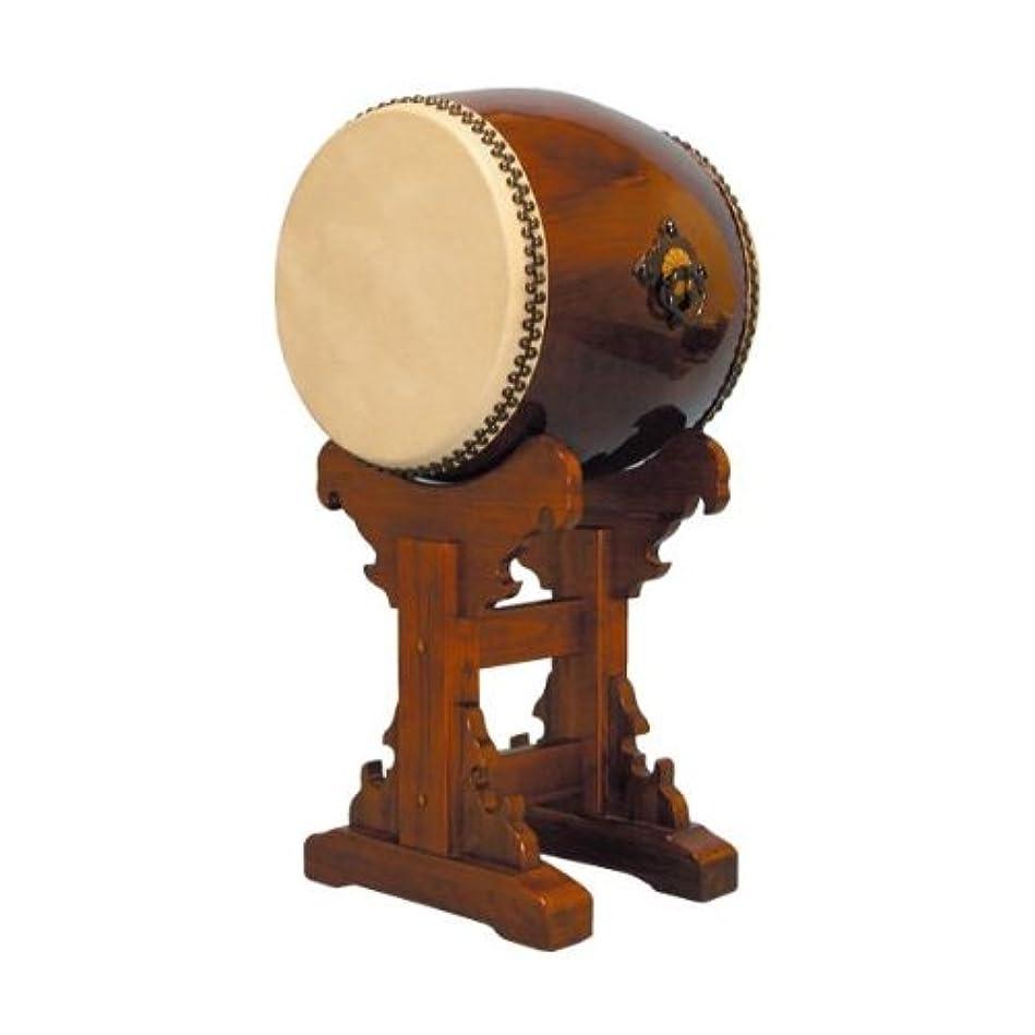 純粋に祭り一長胴太鼓1.4尺(耳無し)宮台座セット