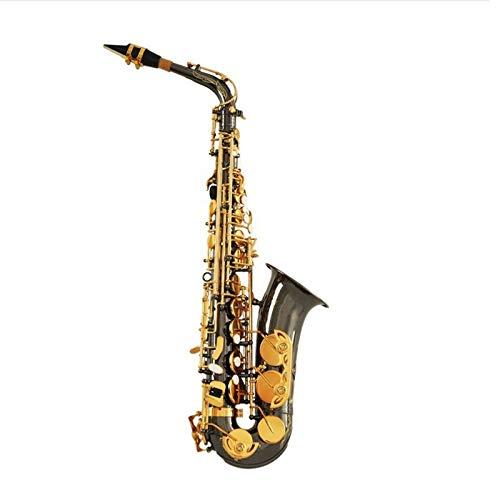 Chyuanhua Saxophon Axophon- / Windinstrument Anfänger, um Saxophon zu Spielen Geeignet für Studenten und Anfänger (Farbe : As Shown, Size : One Size)