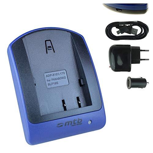 Ladegerät (USB, KFZ, Netz) für DMW-BLF19, BLF19E, BP-61 / Panasonic Lumix G9 / Lumix DC-GH5S, GH5 / DMC-GH3, GH4 (R/A/U/H) / Sigma sd Quattro H