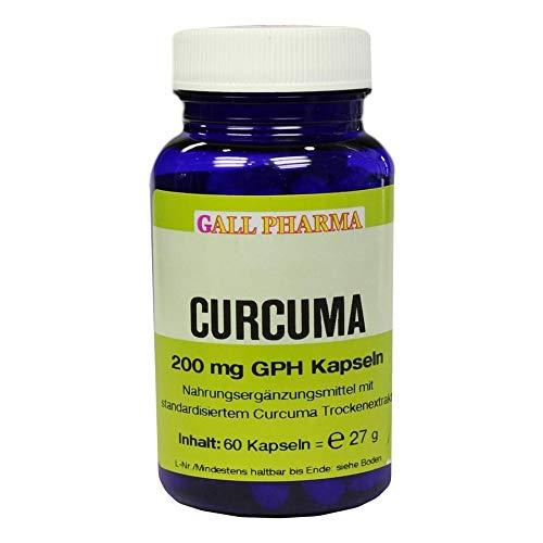 GALL PHARMA Curcuma 200 mg GPH Kapseln, 60 St. Kapseln