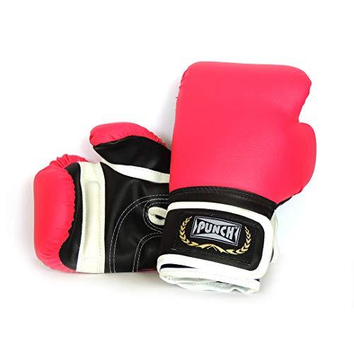Luva De Boxe Home 16 Punch Unissex 16 Rosa