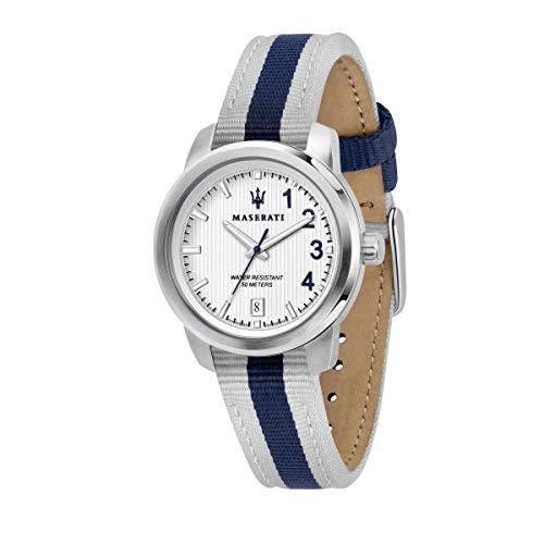 Damenuhr, Kollektion Royale, Quarzuhrwerk, nur mit Zeitanzeige-und Datum, aus Nylon und Edelstahl - R8851137503