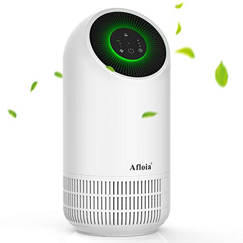 Afloia Air Purifier, Portable Air Cleaner for Home With True H13 HEPA Filter, Whisper Quiet Air Filter Remove 99.97% Pollen Dust Smoke Odors for Bedroom, Living Room, Office