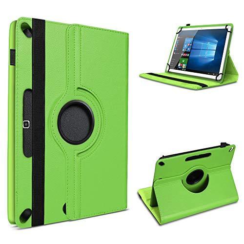 UC-Express Tablet Hülle kompatibel für Lenovo Tab M10 Tasche Schutzhülle Cover Schutz Hülle 360° Drehbar Klapphülle, Farben:Grün