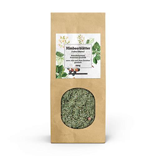 Valdemar Manufaktur Premium HIMBEERBLÄTTER-Tee 100g - HANDVERPACKT In Deutschland