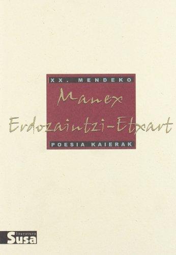 Manex Erdozaintzi-Etxart - Xx.Mendeko Poesia Kaierak