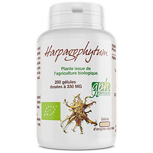 Harpagophytum Bio - 330 mg - 200 gélules végétales