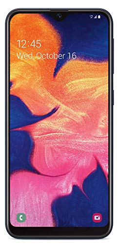 Simple Mobile Samsung Galaxy A10e 4G LTE Prepaid Smartphone (Locked) - Black - 32GB - SIM Card Included - GSM