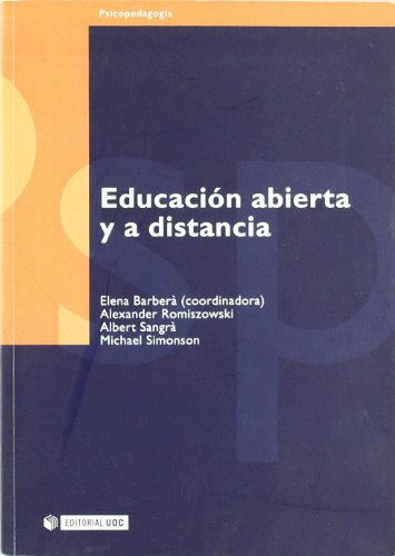 Educacion Abierta Y A Distancia Open And Distance Education Psicopedagogia Psychopedagogy Spanish Edition