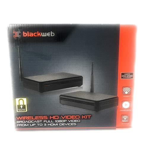 Blackweb HDMI Digital Wireless Transmitter Receiver Kit 1080p Video Streaming
