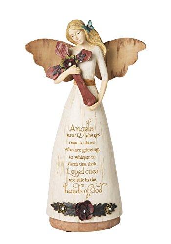 Pavilion Gift Company 02969 Sympathy Angel Figurine, 9-Inch